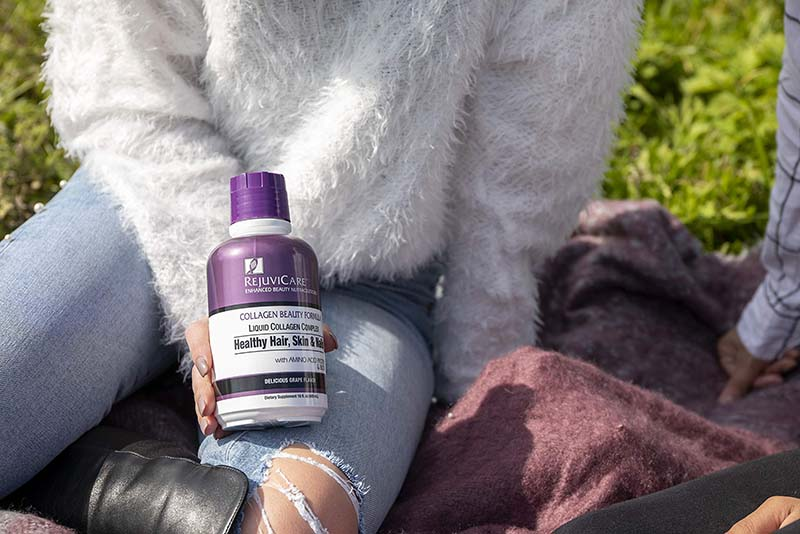 RejuviCare Collagen Beauty Formula Liquid là sản phẩm đến từ Mỹ giúp móng chắc khỏe