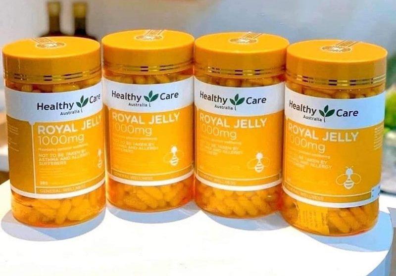 Viên uống sữa ong chúa cao cấp làm đẹp da Healthy Care Royal Jelly
