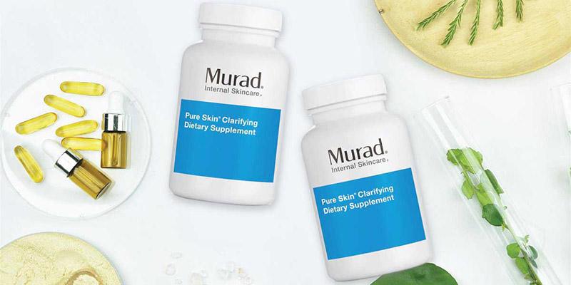 Viên hỗ trợ trị mụn của hãng Murad