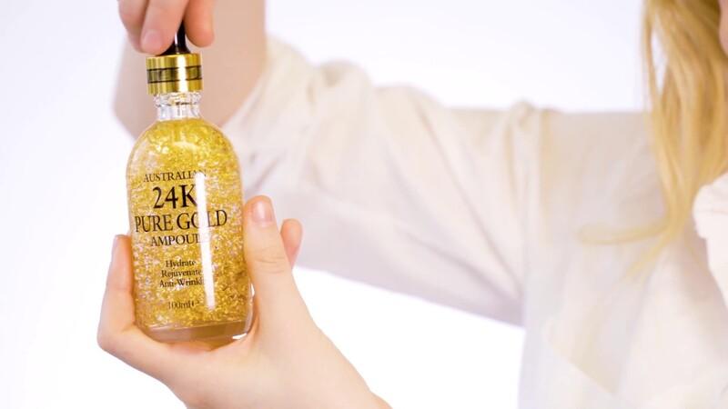 Naro 24K Pure Gold Ampoule Serum