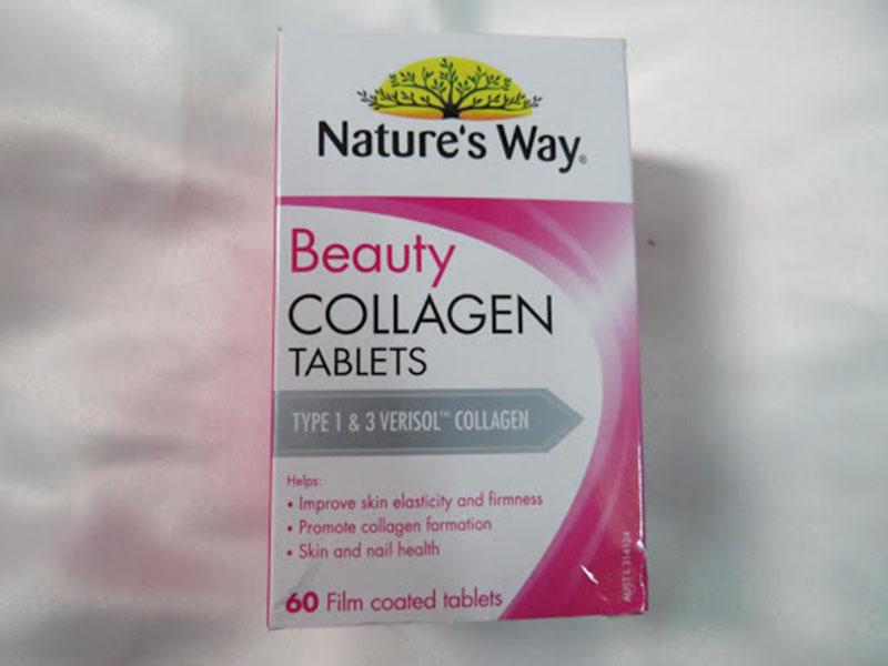 Sản phẩm Nature's way beauty collagen ngừa lão hóa, chăm sóc da mụn mùa hè