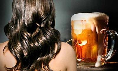 Chăm sóc tóc bằng bia