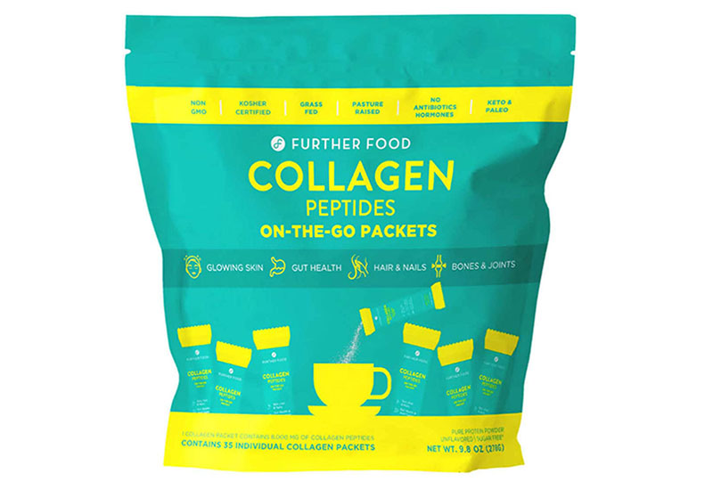 Further Food Collagen Peptides Protein Powder cung cấp collagen cùng acid amin