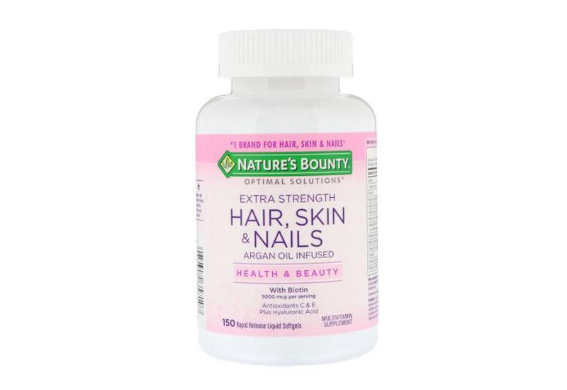 Viên uống Hair Skin Nail Nature's Bounty là sản phẩm tuyệt vời giúp mái tóc tóc bạn trở nên dày và bóng hơn