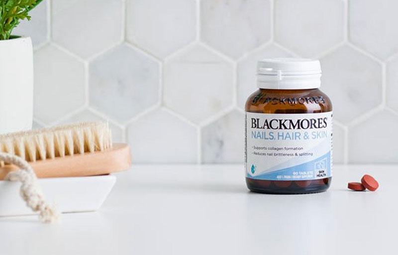Blackmores Nail Hair Skin giúp làm đẹp da móng tóc