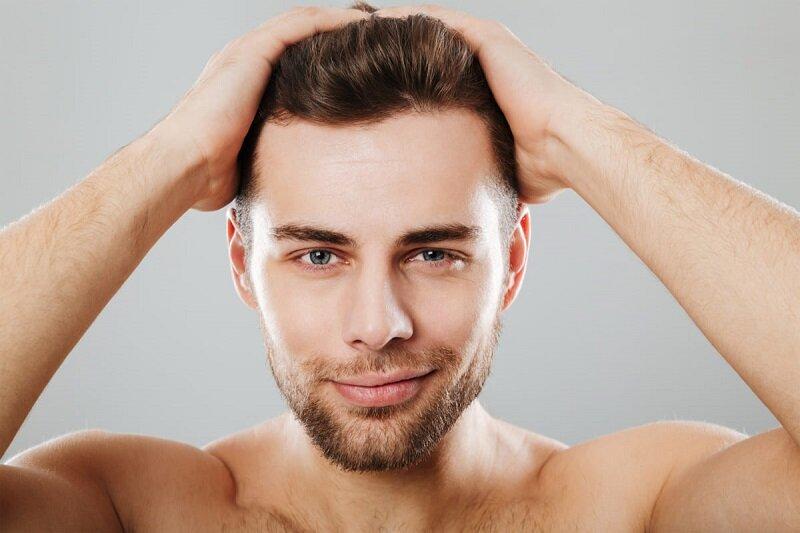 Chăm sóc tóc nam với dầu dừa có tác dụng kích thích mọc tóc, nuôi dưỡng độ ẩm