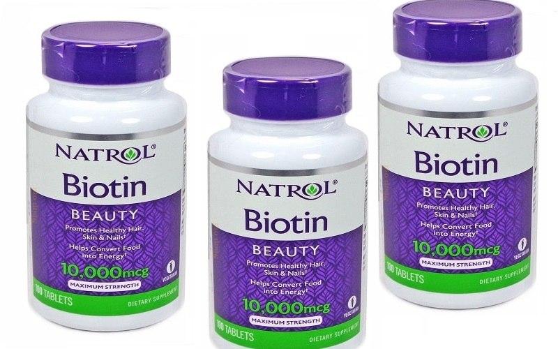 Chăm sóc tóc ngắn bằng sản phẩm Biotin để tóc được phồng và mềm mượt