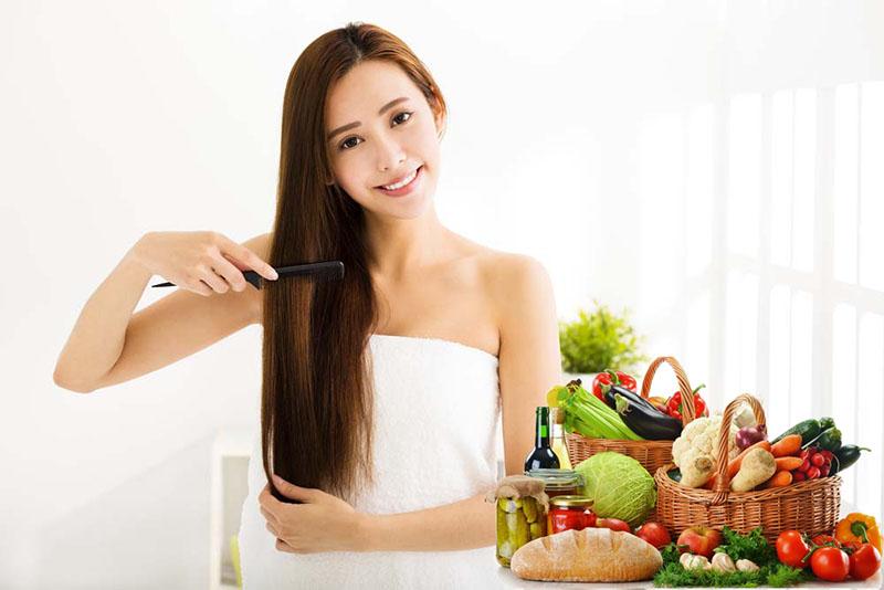 Nuôi dưỡng mái tóc chắc khỏe từ bên trong