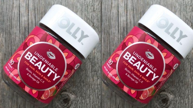Sản phẩm chăm sóc tóc từ bên trong Olly Undeniable Beauty Gummy
