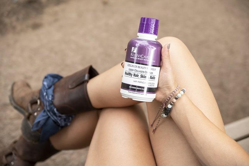RejuviCare Collagen Beauty Formula Liquid hỗ trợ chăm sóc tóc từ bên trong