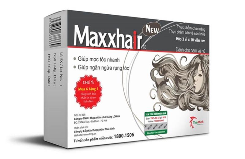 Chăm sóc tóc tẩy nhuộm bằng sản phẩm Maxxhair