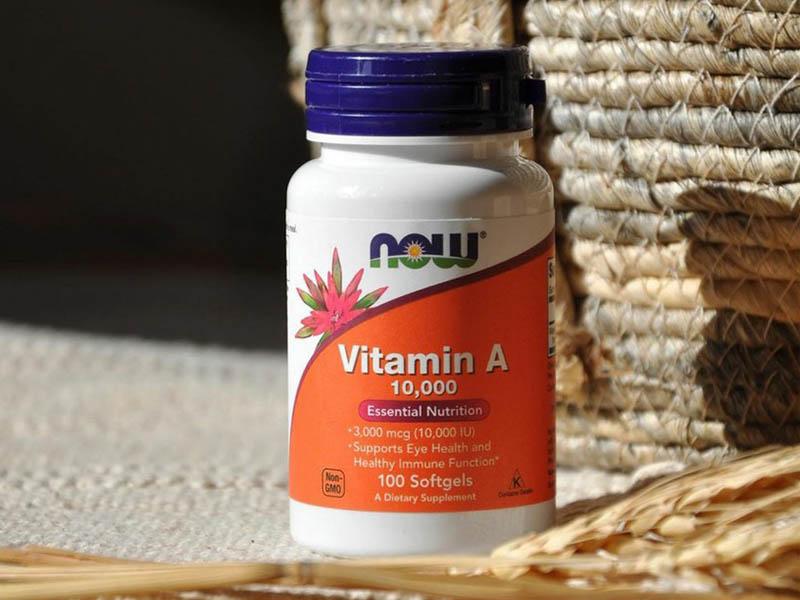 Có mấy loại viên uống vitamin A: Now Food Vitamin A