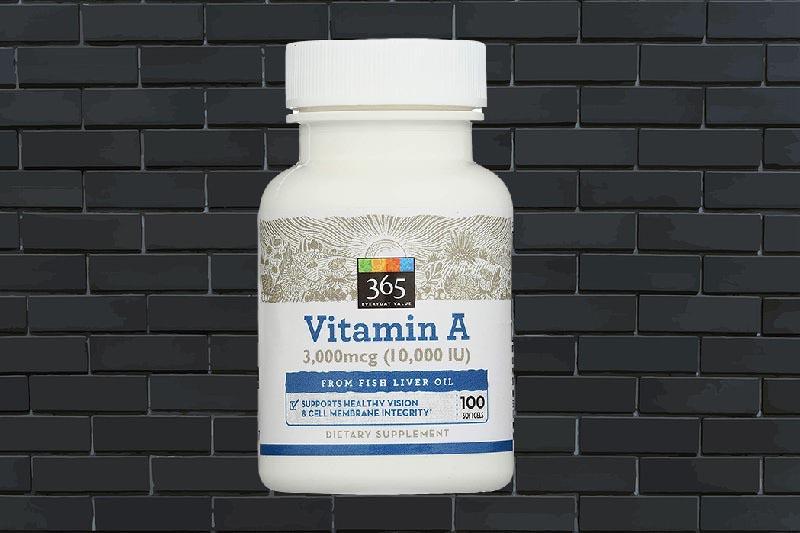Viên bổ sung vitamin A 365 Everyday Value