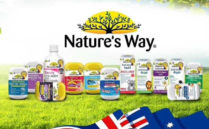 Viên uống Nature's Way được thị trường đánh giá cao