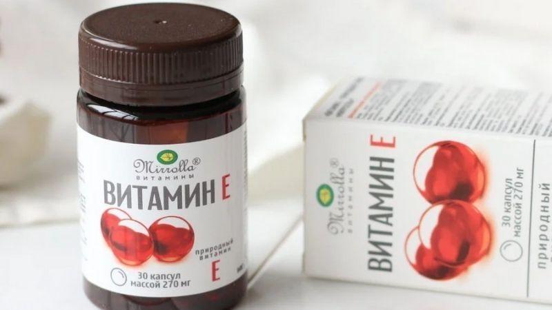 Vitamin E đỏ của Nga được sử dụng phổ biến