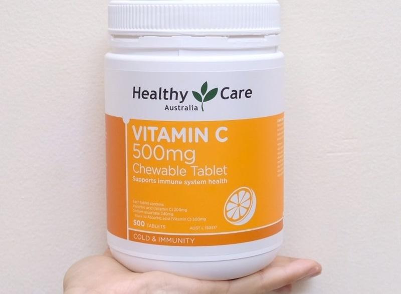Healthy Care vitamin C giúp tăng cường sức đề kháng, chống oxy hóa
