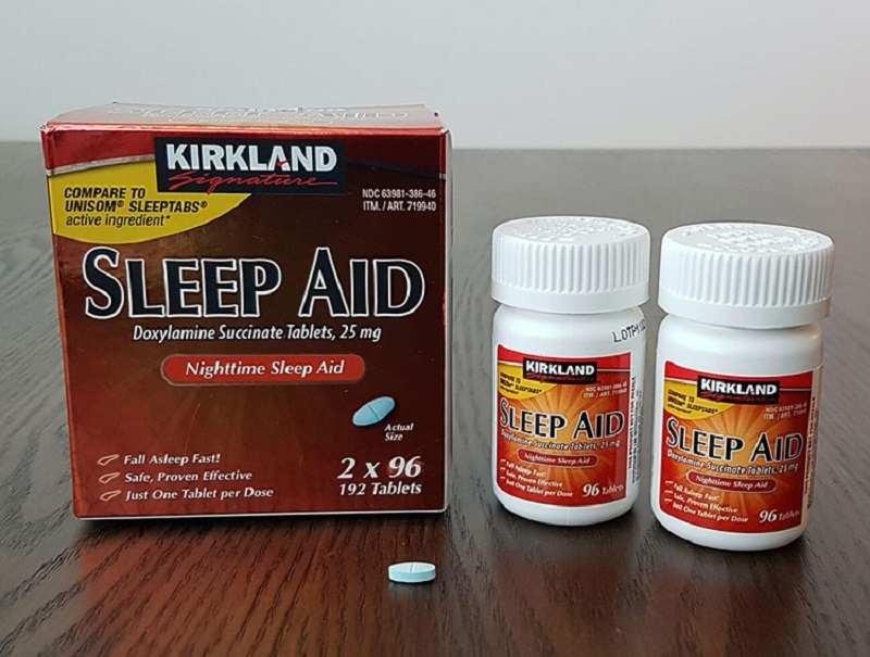 Kirkland Sleep Aid an toàn cho người dùng