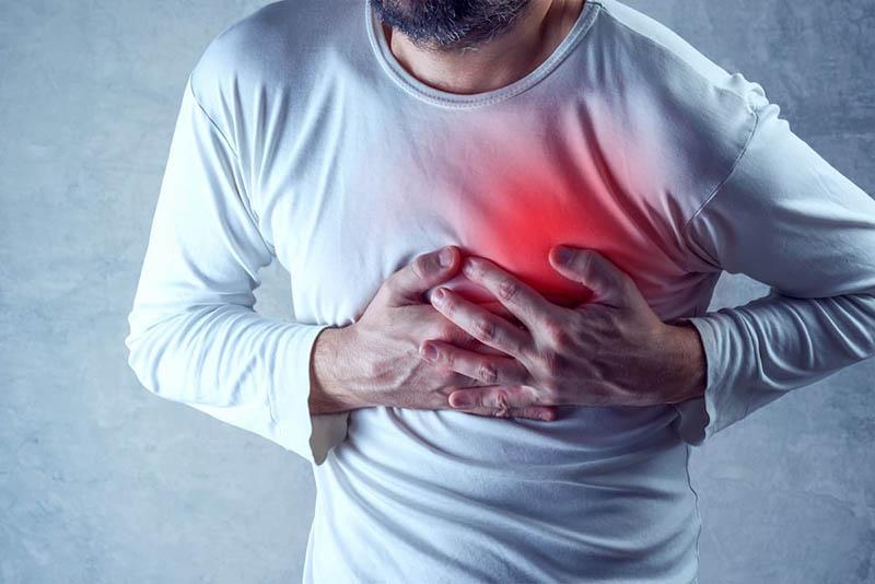 Nhồi máu cơ tim xảy ra khi 1 trong 2 nhánh mạch máu bị tắc đột ngột