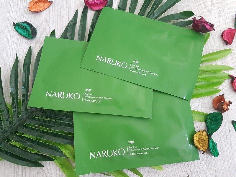 Mặt nạ Naruko Tea Tree dành cho da mụn