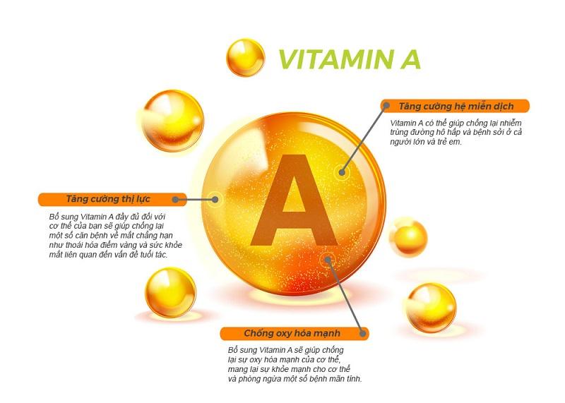 Vitamin A là nhóm vitamin vô cùng quan trọng đối với sức khỏe