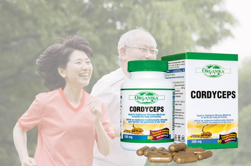 Thực phẩm chức năng cho người cao tuổi Organika Cordyceps