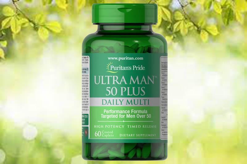Ultra Vita Man™ 50 Plus là một sản phẩm nữa đến từ thương hiệu Puritan's Pride