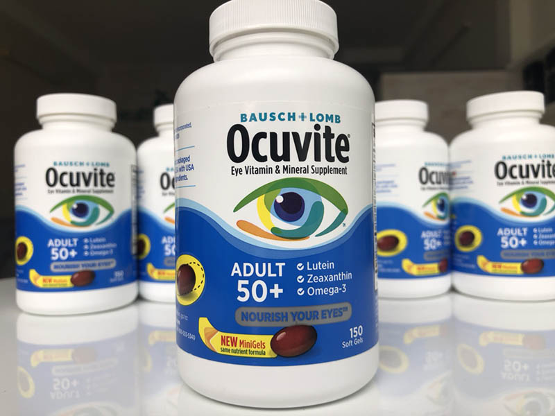 Thực phẩm chức năng dành cho người lớn tuổi Ocuvite
