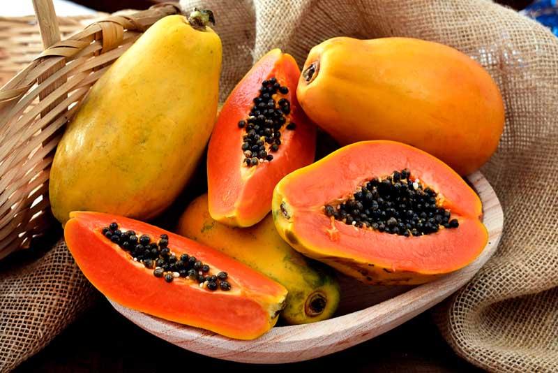 Đu đủ là trái cây giàu vitamin A