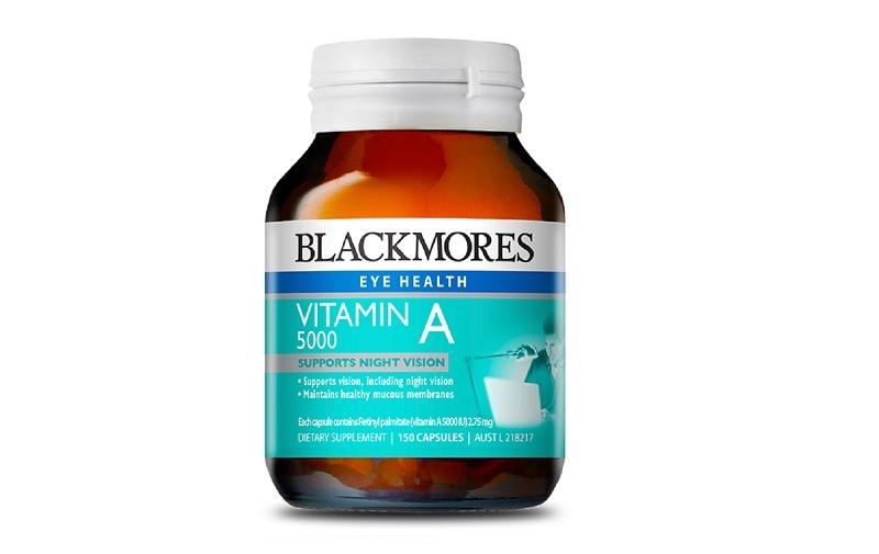 Viên uống Vitamin A 5000IU 150 viên Blackmores là thực phẩm chức năng bổ sung vitamin A hiệu quả