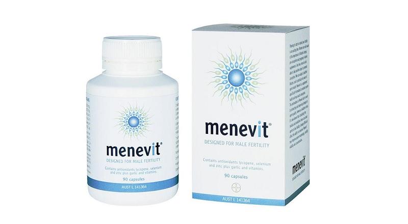 Viên uống tăng khả năng thụ thai Menevit của Úc