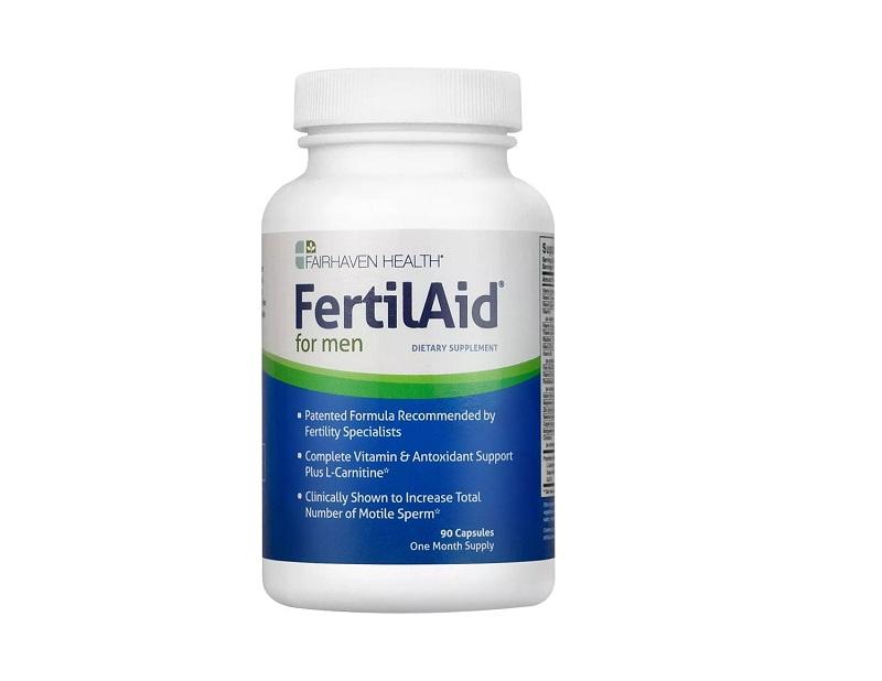 FairHaven Health FertilAid for Men tăng chất lượng tinh trùng