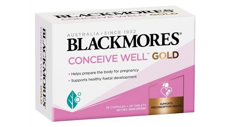 Viên uống Blackmores Conceive Well Gold