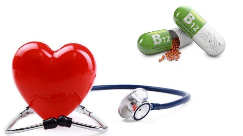 Vitamin B12 chăm sóc tốt cho sức khỏe tim mạch