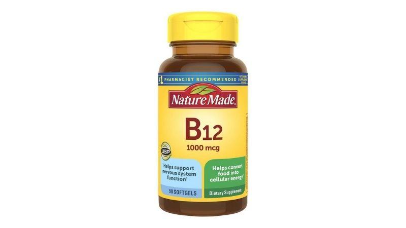 Nature Made vitamin B12 1000mcg được nhiều người ưa chuộng sử dụng