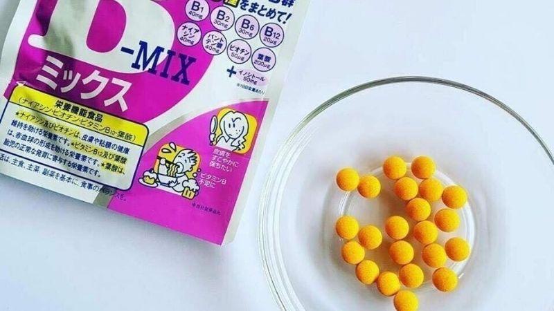 Viên uống vitamin B tổng hợp DHC được nhiều khác hàng lựa chọn