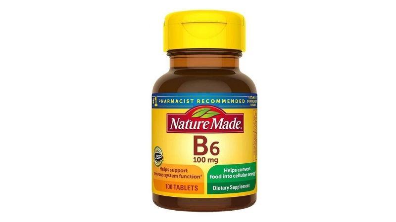 Viên uống vitamin B6 Nature Made