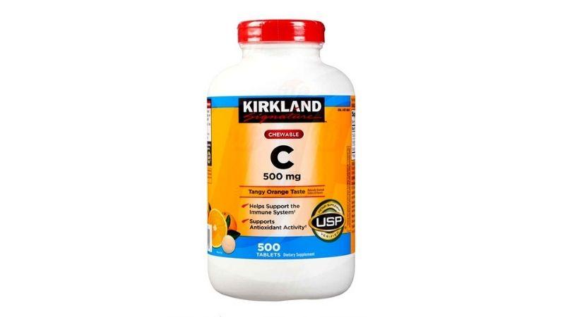 Viên uống vitamin C của Kirkland chăm sóc sức khỏe rất tốt