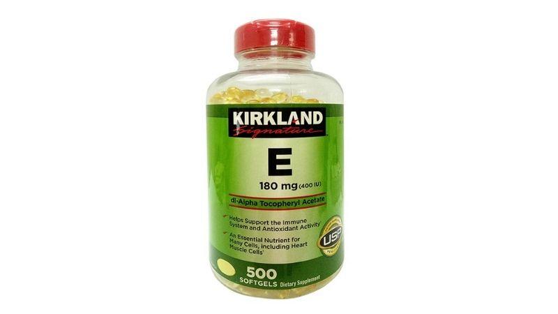 Vitamin E Kirkland cũng được rất nhiều người lựa chọn