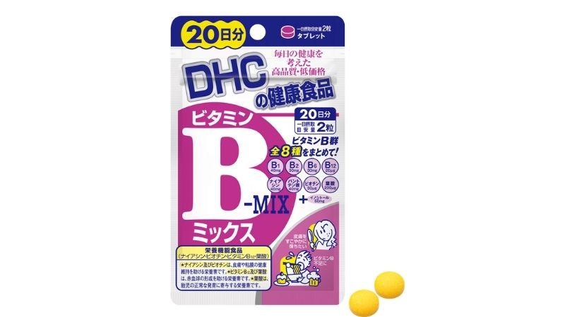 DHC bổ sung vitamin B1 và các vitamin khác cùng nhóm B