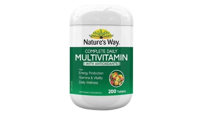 Người dùng có thể sử dụng Nature's Way Complete Daily Multivitamin