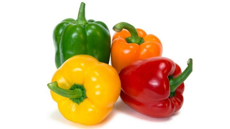 Bổ sung hàm lượng vitamin cao thông qua ớt chuông