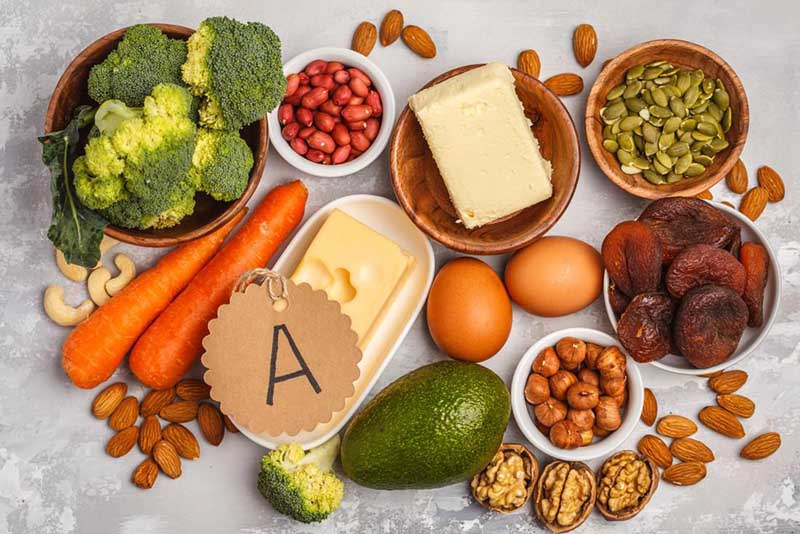 Tăng cường vitamin A bổ mắt từ thực phẩm