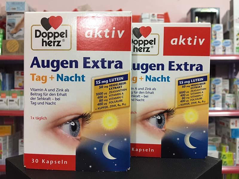 Thực phẩm chức năng chứa vitamin A bổ mắt