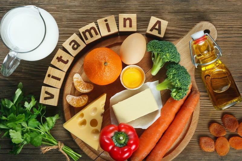 Có rất nhiều loại thực phẩm chứa vitamin A cho bà bầu