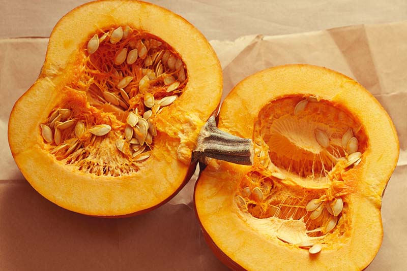 Thực phẩm chứa vitamin A: Bí ngô