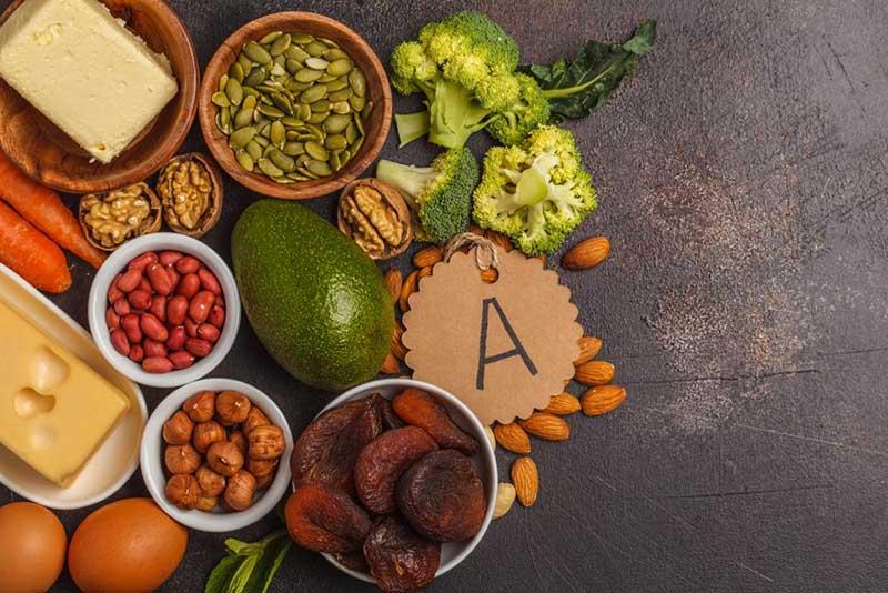 Bổ sung vitamin A từ thực phẩm