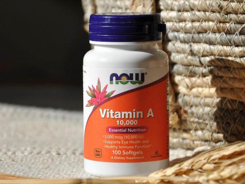 Các loại viên uống vitamin A