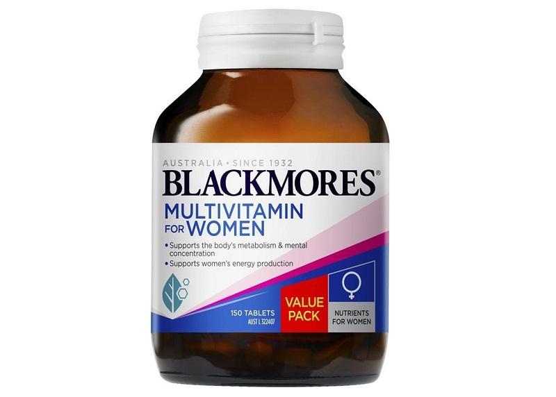 Sản phẩm Blackmores Multivitamin For Women bổ sung nhiều dưỡng chất