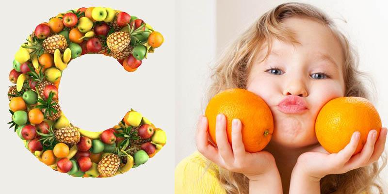 Lợi ích của việc bổ sung vitamin C cho bé