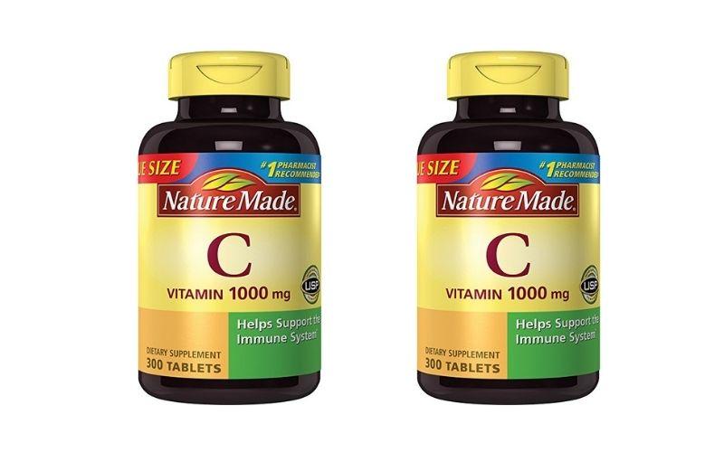 Vitamin C 1000mg Nature Made hỗ trợ đào thải độc tố ra khỏi cơ thể
